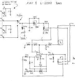 early l 2000 and asat schematic this is for those instruments that have the bass boost or omg setting  [ 1024 x 821 Pixel ]