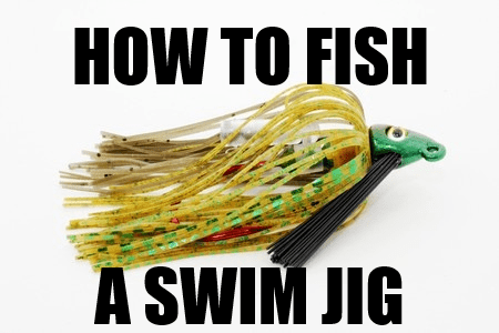How to fish a swim jig