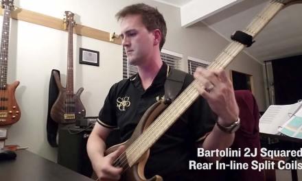 Bartolini 2J Squared quad-coil pickups vs Bartolini MTD USA proprietary pickups