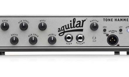 Aguilar Amplification Announces The Tone Hammer® 700 Super Light Amplifier