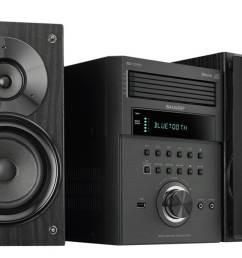 1 best overall sharp xl bh250 home stereo system [ 1324 x 951 Pixel ]
