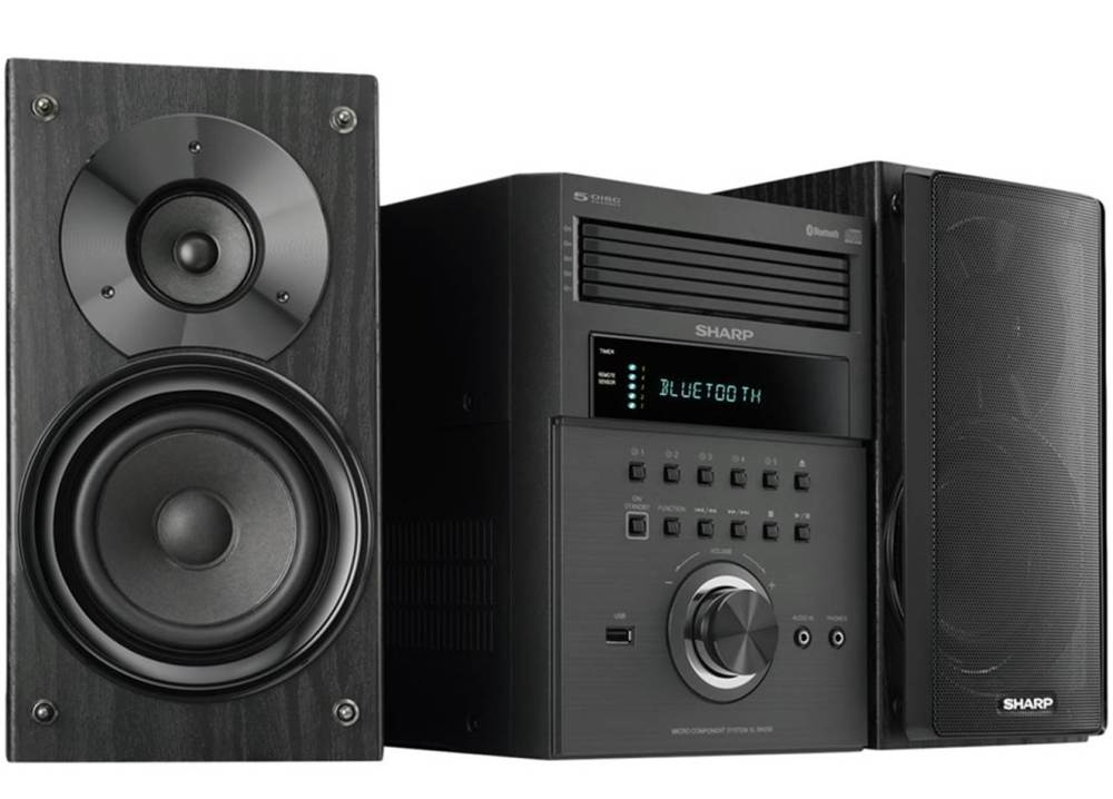 medium resolution of  1 best overall sharp xl bh250 home stereo system