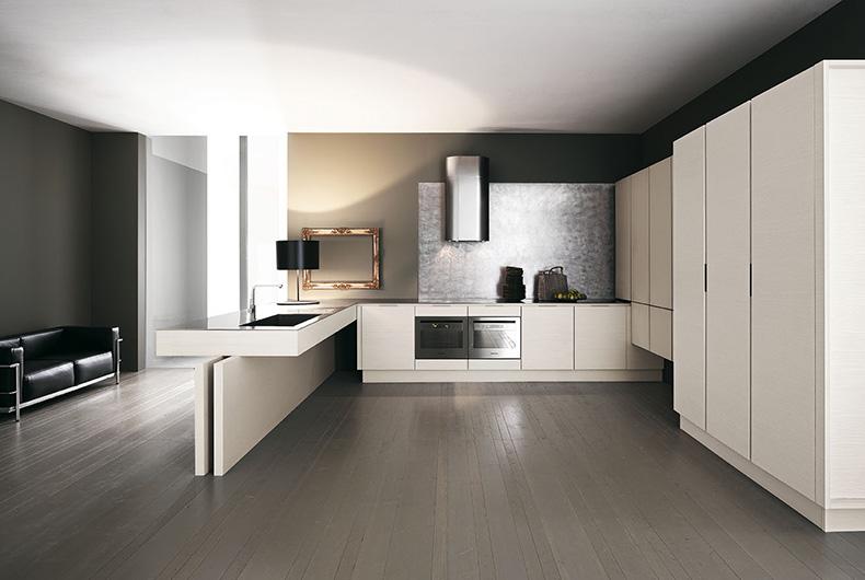 Vediamo le migliori soluzioni per arredare un soggiorno con cucina a vista. Arredare Cucina E Zona Living In Un Open Space Come Fare E Con Che Stile Bassi Design Piacenza