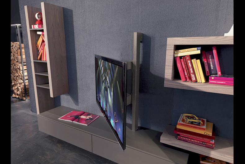 Porta TV Rack Flag di Fimar  Prodotto arredamento  Bassi Design Piacenza