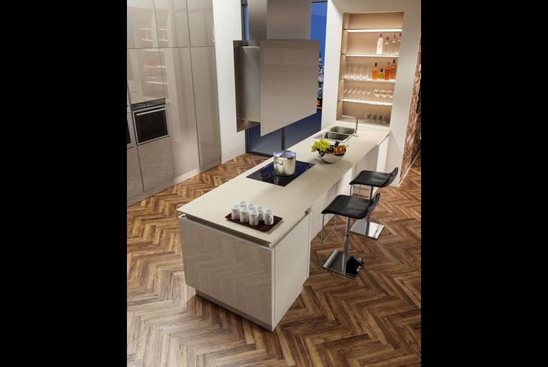 Cucina B50 di Berloni  Prodotto arredamento  Bassi Design Piacenza
