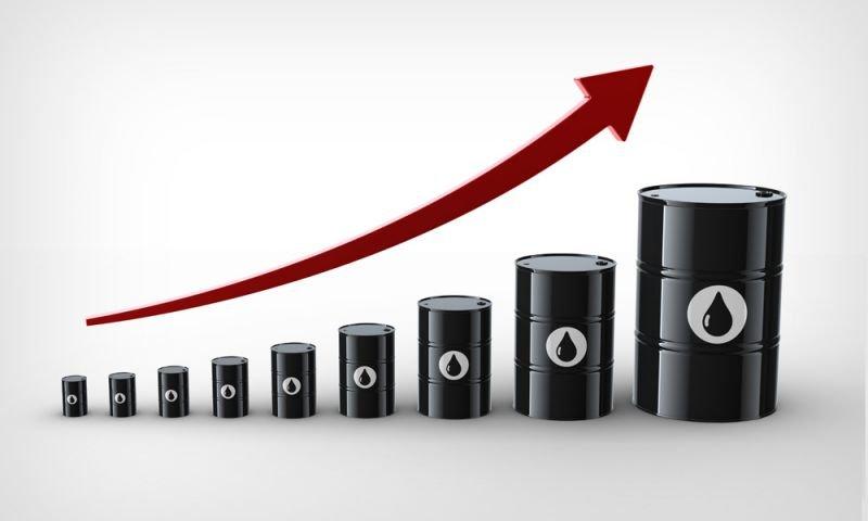 Precios del petróleo subiendo