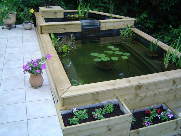 Fabriquer un bassin hors sol en bois