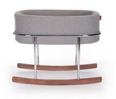 Monte Design Rockwell Modern Bassinet