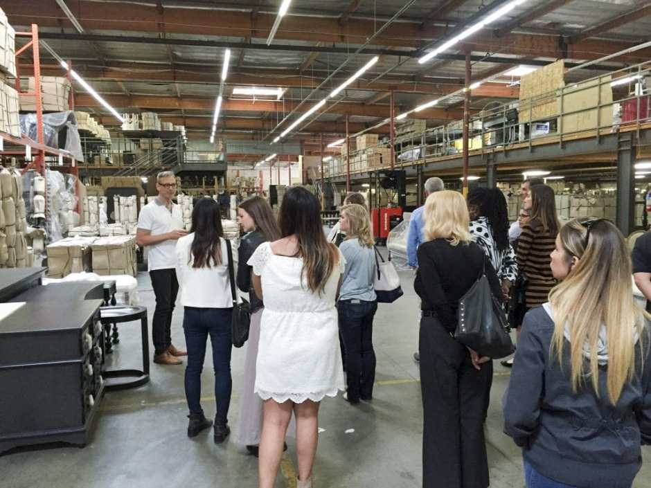 Noir Furniture Open House Tour LA May 2016