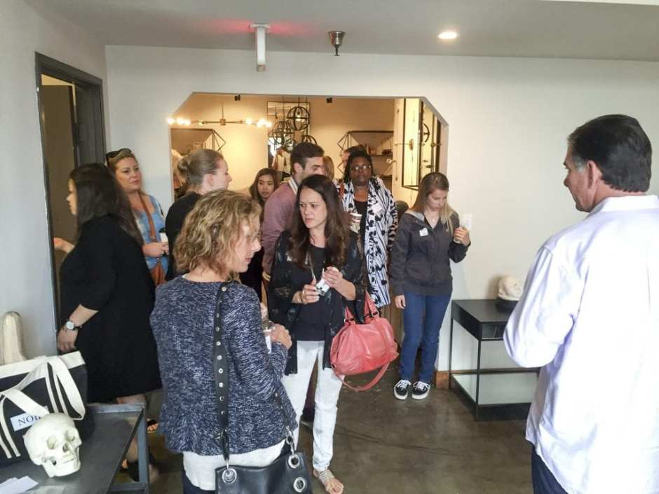 CFC Furniture Open House Tour LA May 2016 Start
