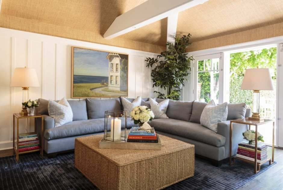 Barclay Butera Laguna Beach Coastal House Interior Design