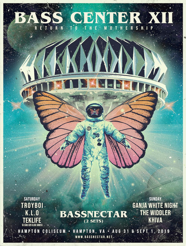Bassnectar - Bass Center XI - The Fall Gathering - 2018