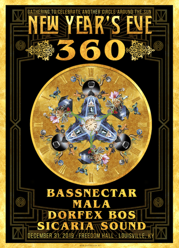 Bassnectar - NYE360 2019