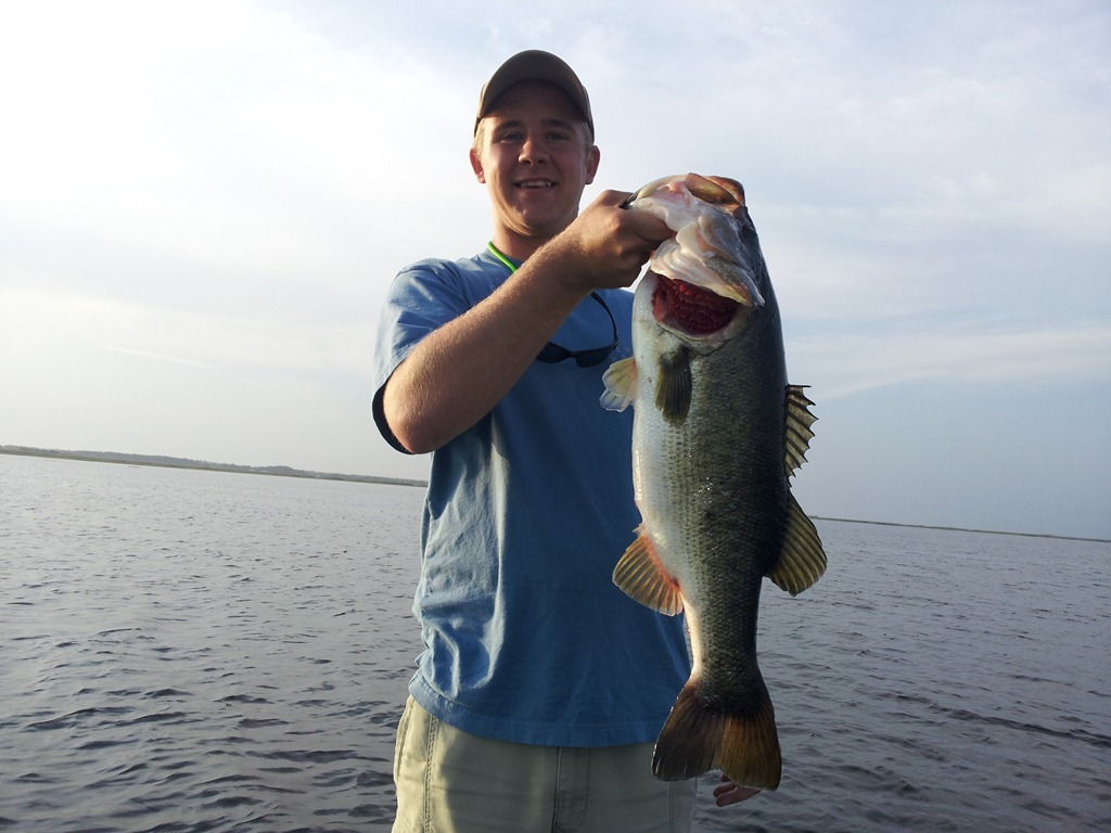 Fishing report for orlando florida orlando bass fishing for Bass fishing guides orlando fl
