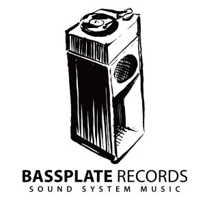 Bassplate Logo white contact