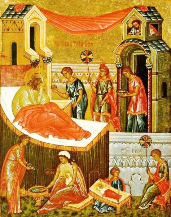 Rodjenje Presvete Bogorodice ikona i praznik Mala Gospojina