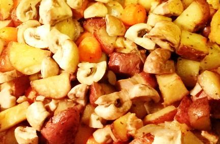 Pečeni krompir na seljački način sa korom