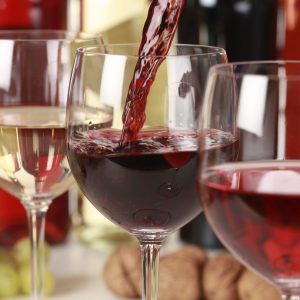 Go ahead, have a glass of vino, and read up on the variety of health benefits moderate wine drinking can provide. Cheers!