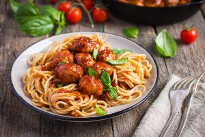Celebrate National Meatball Day at Basta Pasta!