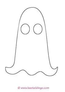 Gespenster Und Geister Vorlagen Basteldinge