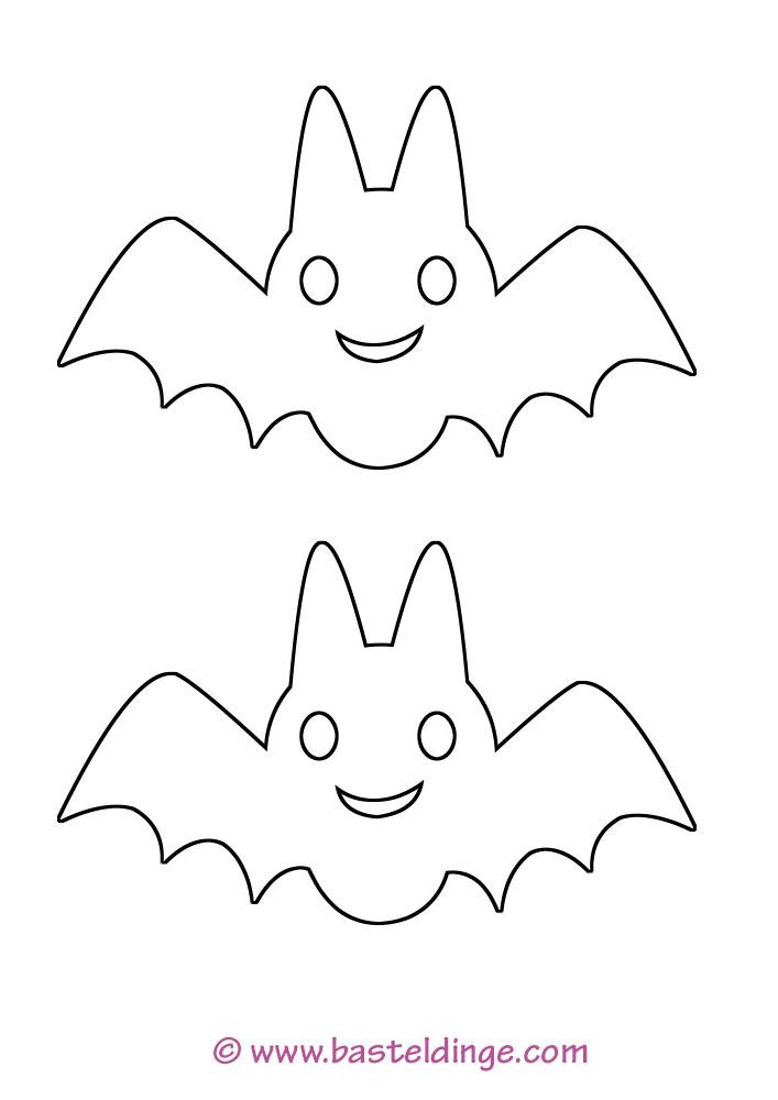 Fledermaus Vorlagen - Basteldinge