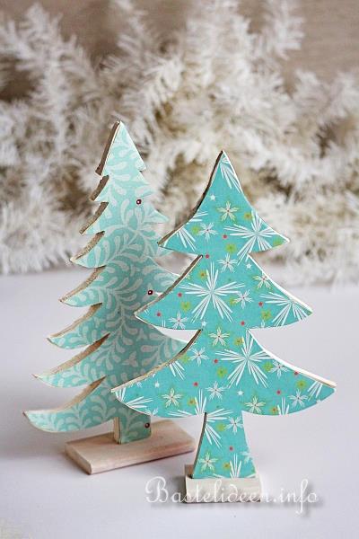 Basteln Mit Holz Zu Weihnachten Deko Weihnachtsbume