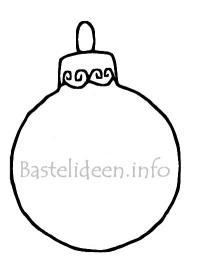 Malvorlage Weihnachtsbaumkugel Malvorlage