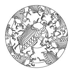 Mandalas für den Frühling Basteln & Gestalten