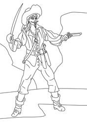 Ausmalbilder Piraten Basteln Amp Gestalten