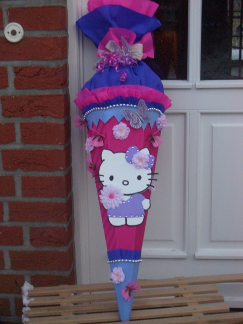 Hello Kitty Schultte  design Schultten by Bastelwonnyde