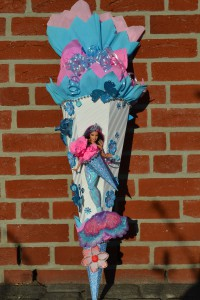 Zuckertte Meerjungfrau selbstgebstelt  design Schultten by Bastelwonnyde