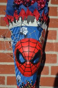 selbstgebastelte Spiderman Schultte  design Schultten