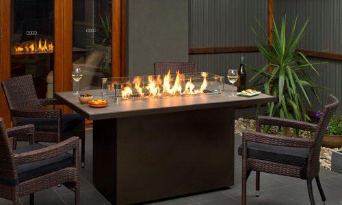 Bast Home Comfort  Barbara Jean 24 Fire Table