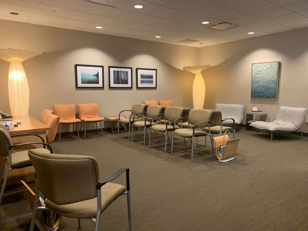 Image of seating area at Bastian Voice Institute
