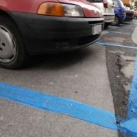 Bastia, sospeso il pagamento dei parcheggi su strisce blu