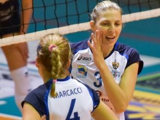 School Volley Bastia batte Macerata per 3 a 1 In caso di vittoria le marchigiane si sarebbero riportate a -3 da Bastia