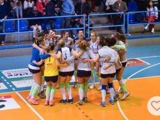 School Volley Bastia soffre e vince: Forlì respinta a -6