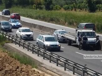 """Incidente stradale su 75 """"Centrale Umbra"""", vicino Ospedalicchio, un ferito"""