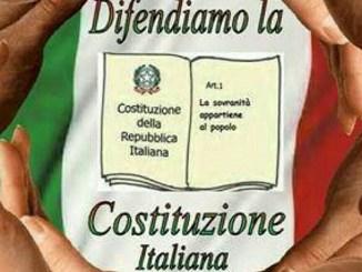 """Referendum, M5s Bastia: """"Difendiamo la Costituzione Italiana"""""""