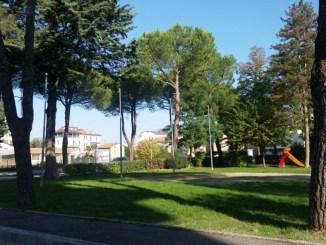 Fabrizia Renzini, storico campetto da calcio Fatigoni a Bastia Umbra no dell'Assessore