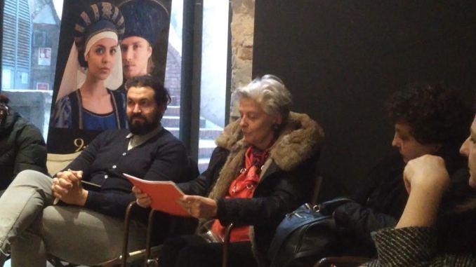 Il regista Rodolfo Mantovani si presenta ai Rioni de Perugia 1416