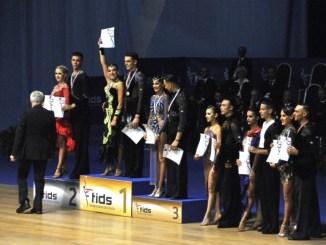 Danza sportiva, Bastia Umbra ha due campioni, Nicola Zampa e Lucrezia Bacchi