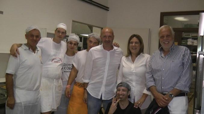 La Presidente della Regione Umbria, Catiuscia Marini, visita la Sagra della Porchetta di Costano