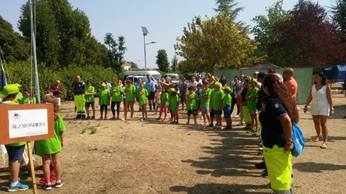 Campo Scuola Cresciamo in Protezione Civile alla base scout Bastia Umbra