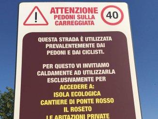 Rischio di essere investita per strada tra Assisi e Bastia Umbra