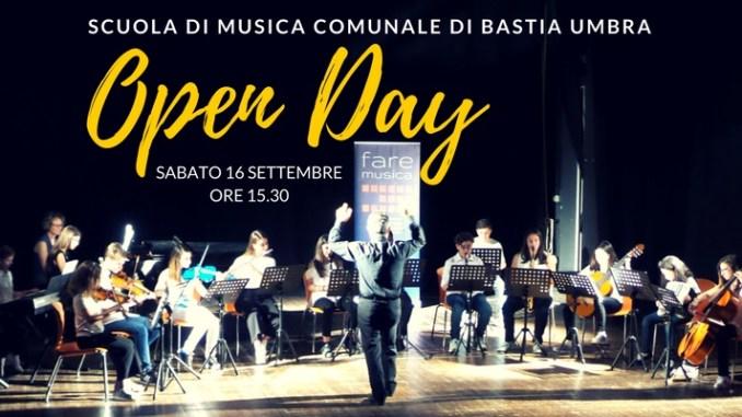 Open Day, della scuola di musica comunale di Bastia Umbra