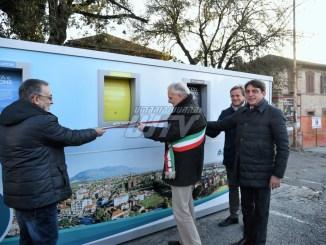 Inaugurata l'Ecoisola di piazza Togliatti a Bastia Umbra