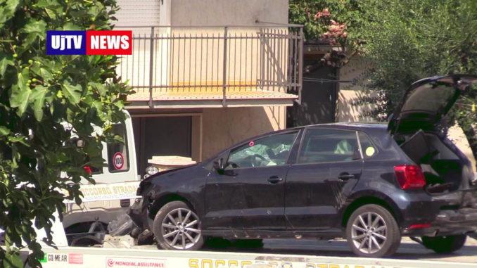 Inseguimento auto, speronamento dopo litigio per strada, dimesso uno dei feriti