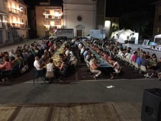 Ospedalicchio, Festa della Madonna della Pietà, Teatro giochi e buon cibo