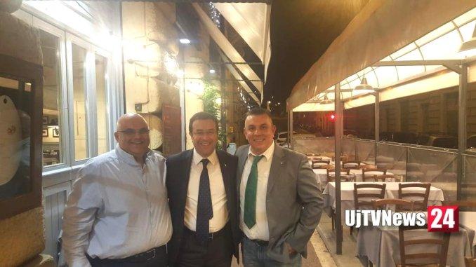 Stefano Candiani a Bastia Umbra a sostegno di Catia degli Esposti sindaco